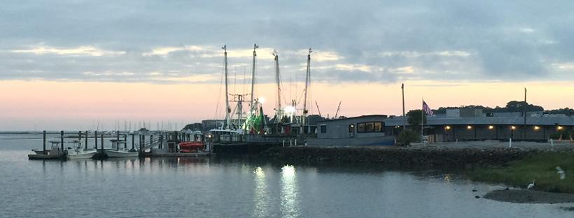 Hudson's Shrimp Boats