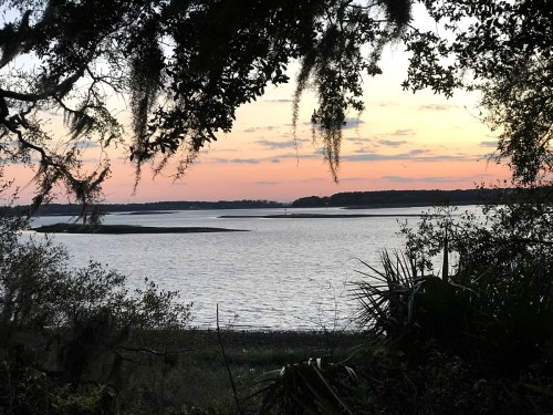 The view over the bay from Fort Mitchell – Hilton Head – design42