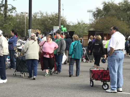 Bring a cart for all your loot! - The World's Largest Yard Sale – Hilton Head Island – design42