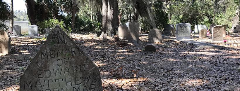 Stoney Cemetery, Amelia White Cemetery or the Graham Cemetery – Hilton Head Island
