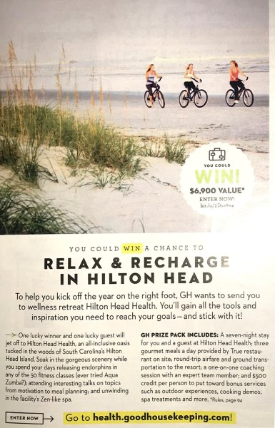 Relax & Recharge with a wellness retreat at Hilton Head Health - Win a Week at Hilton Head Health - Hilton Head Island