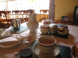 Milky Tea at Greenacres Bed & Breakfast in Rathcoole