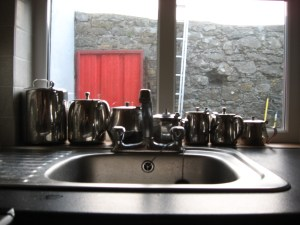 Ready for Tea, The Harbour Masters House, Shannon Harbour, County Offaly