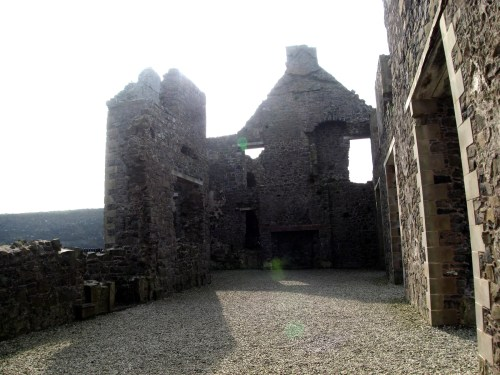 Dunluce Castle Kitchen is still there