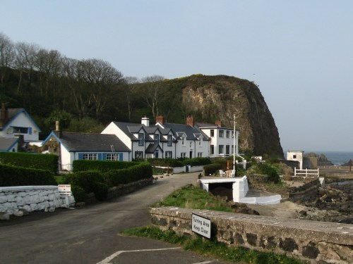 Portbraddon, on White Park Bay, on the Antrim Coast between Giant's Causeway and Carrick-a-Rede Rope Bridge