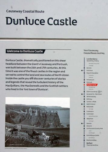 Welcome to Dunluce Castle