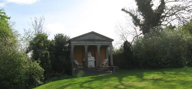 Leixlip Castle Garden Temple Seat