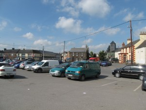 Parking and Shops, Kildare, Ireland