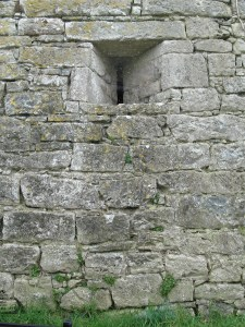 Window in a Tower House, right on the side of the road