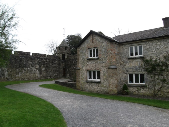 Cahir Cottage built within Cahir Castle walls