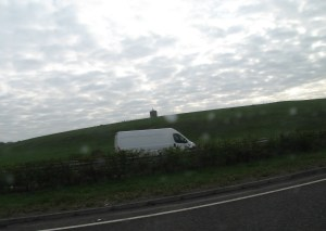 Driving down the M18 somewhere past Shannon, the Gazebo at Dromoland Castle