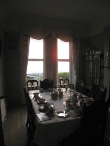 A beautiful breakfast table laid ready for all of the people still sleeping when I left to watch the sunrise.