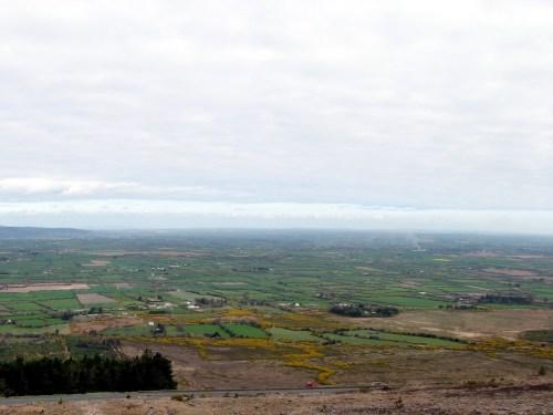 The Golden Vale or Golden Vein, Beautiful rich pastureland in Munster, Ireland.