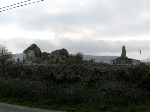 Remains of religious house and graveyard off N67, Bishopsquarter, Co. Clare, Ireland