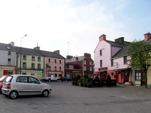 Kinvara, a small sea port village Co.Galway, Ireland