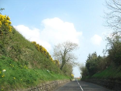 Driving North through Ireland
