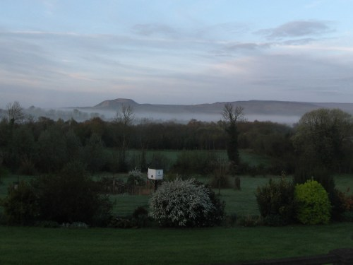 The view from my window, wherever I was, Florencecourt, Enniskillen, County Fermanagh, Ireland