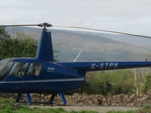 Helicopter, wherever I was, Florencecourt, Enniskillen, County Fermanagh, Ireland