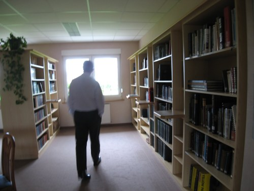 Library at Watch Tower House, Ireland's Branch Office