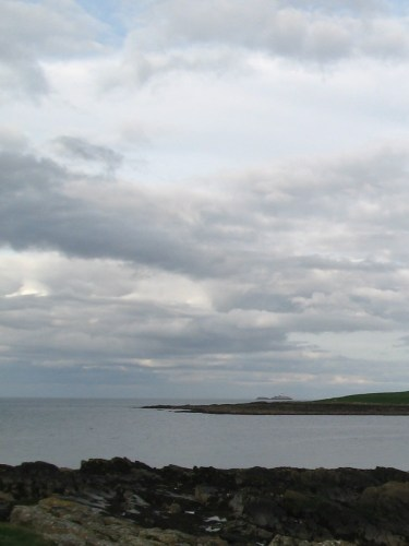 Skerries Lighthouse on Rockabill island in the distance