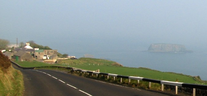 Along the Antrim Coast to Giant's Causeway