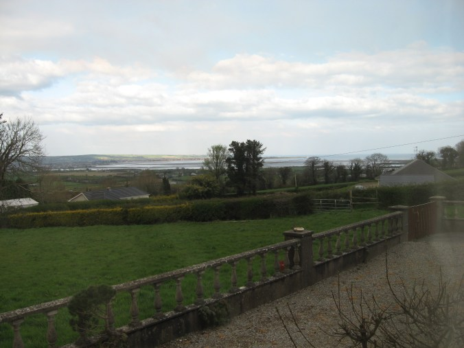 The view from my window at Maple Leaf Bed and Breakfast, Windgap, Cork Rd, Dungarvan, Ireland