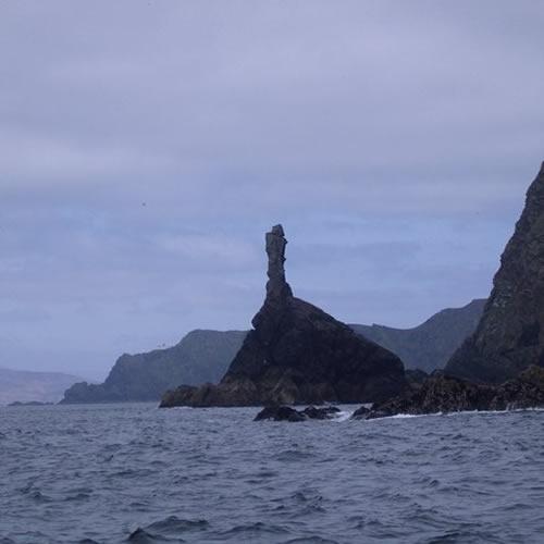 The rocky northern coast of Clare Island Photo by Keith Salvesen - Islands of Ireland's Western Connemara – Ireland, A Different Visit
