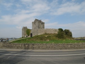 Dunguaire Castle is a tower house built in 1520 by the O'Hynes clan.