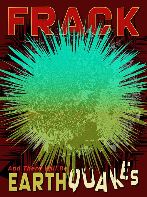 earthquakes, fracking, ecology