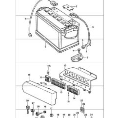 1974 Porsche 911 Wiring Diagram Speakon Connector 5 Pin Relay Plug With Harness 90161233300 Battery Fuse Box 1978 83