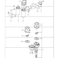 Porsche 911 964 Wiring Diagram 2006 Cobalt Ignition Coil 84 89 924s 944 968 928 Engine Electrics 1 For Carrera 2 4 M64 01 02 And