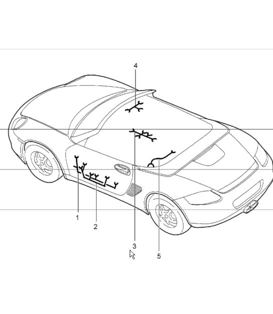 Porsche Boxster Convertible Parts Diagram