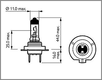 Buy Porsche Boxster 986/987/981 Main/Full Beam Bulbs