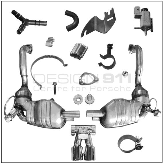 Buy Porsche Boxster 986/987/981 (1997-2016) Silencers
