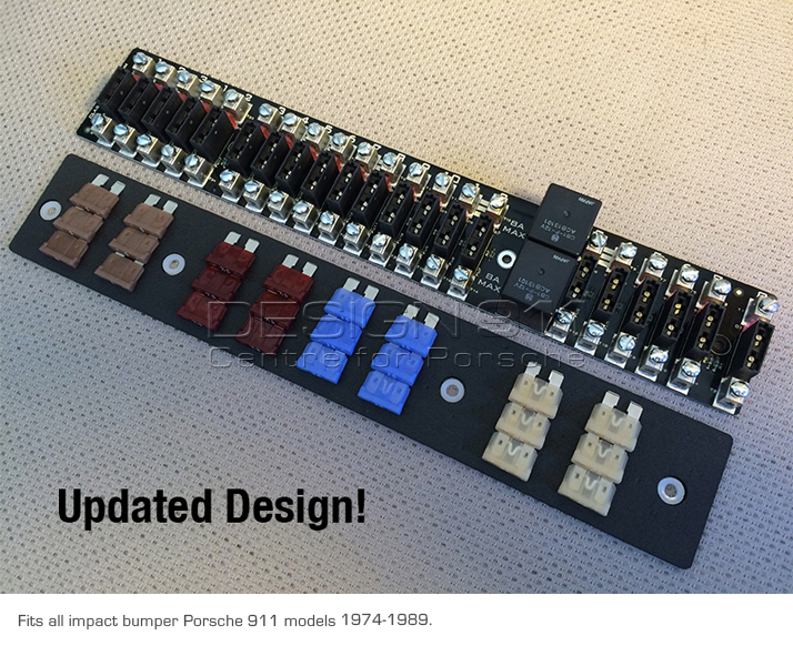 Fuse Rack 21 Way Fuse Panel With Led Fuse Failure