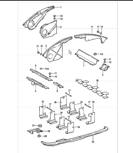 Porsche 914 Engine Diagram. Porsche. Auto Parts Catalog