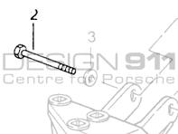 Porsche 964 Engine Gearbox Mount 96437530905 96437530904