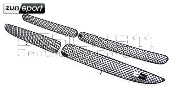 Porsche Rennline Front Bumper Wire Mesh Grill Kit