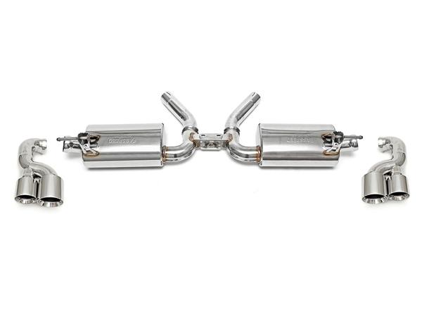 DesignTek Porsche Cayman Exhaust Muffler / Silencer Sports