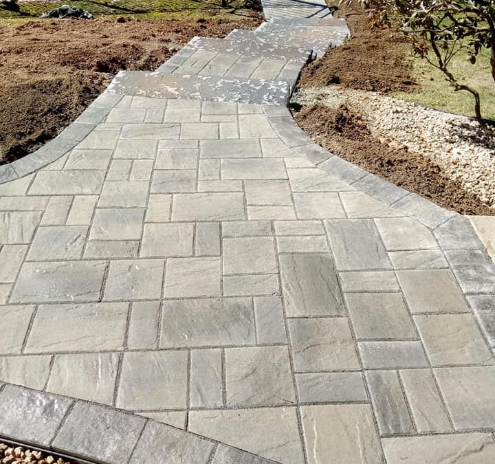 granby ct interlocking stone paver