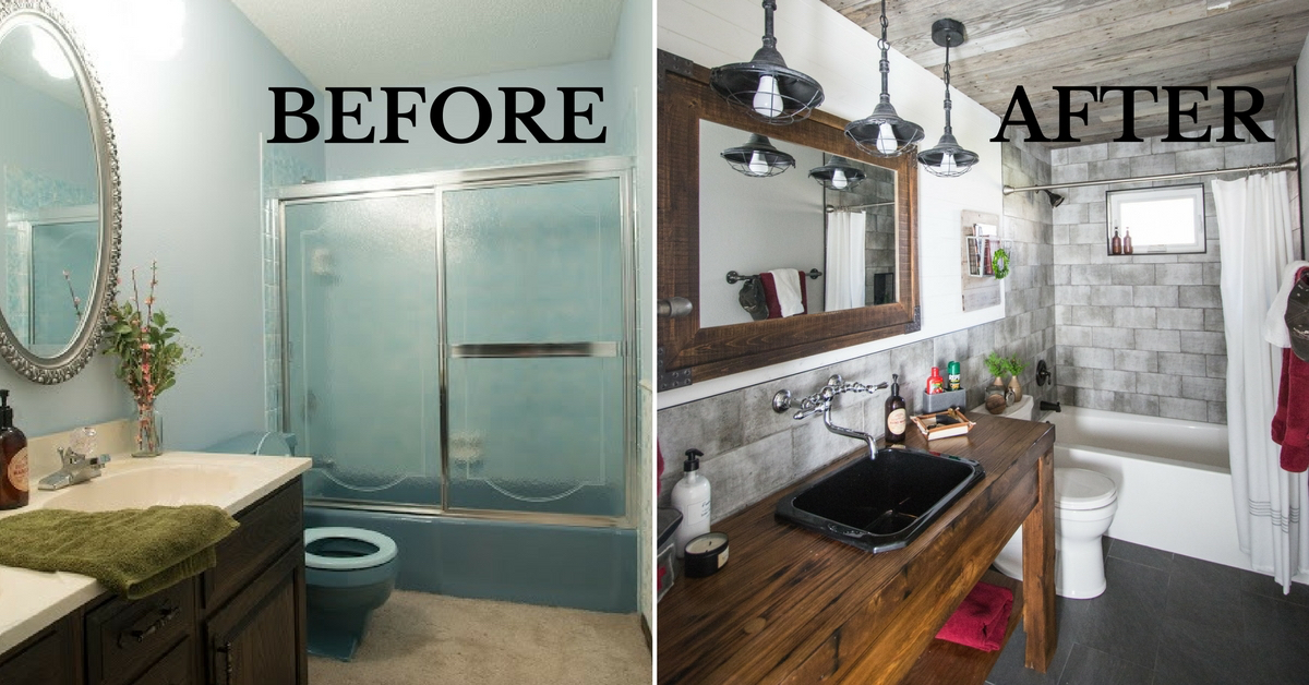 DIY Guys Bathroom Remodel With Maria Bosak  Design and Living Magazine