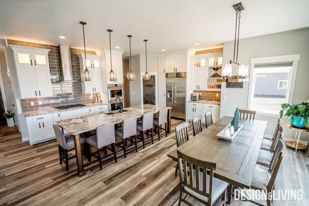 Modern Marries Farmhouse In A Horace Home  Design and
