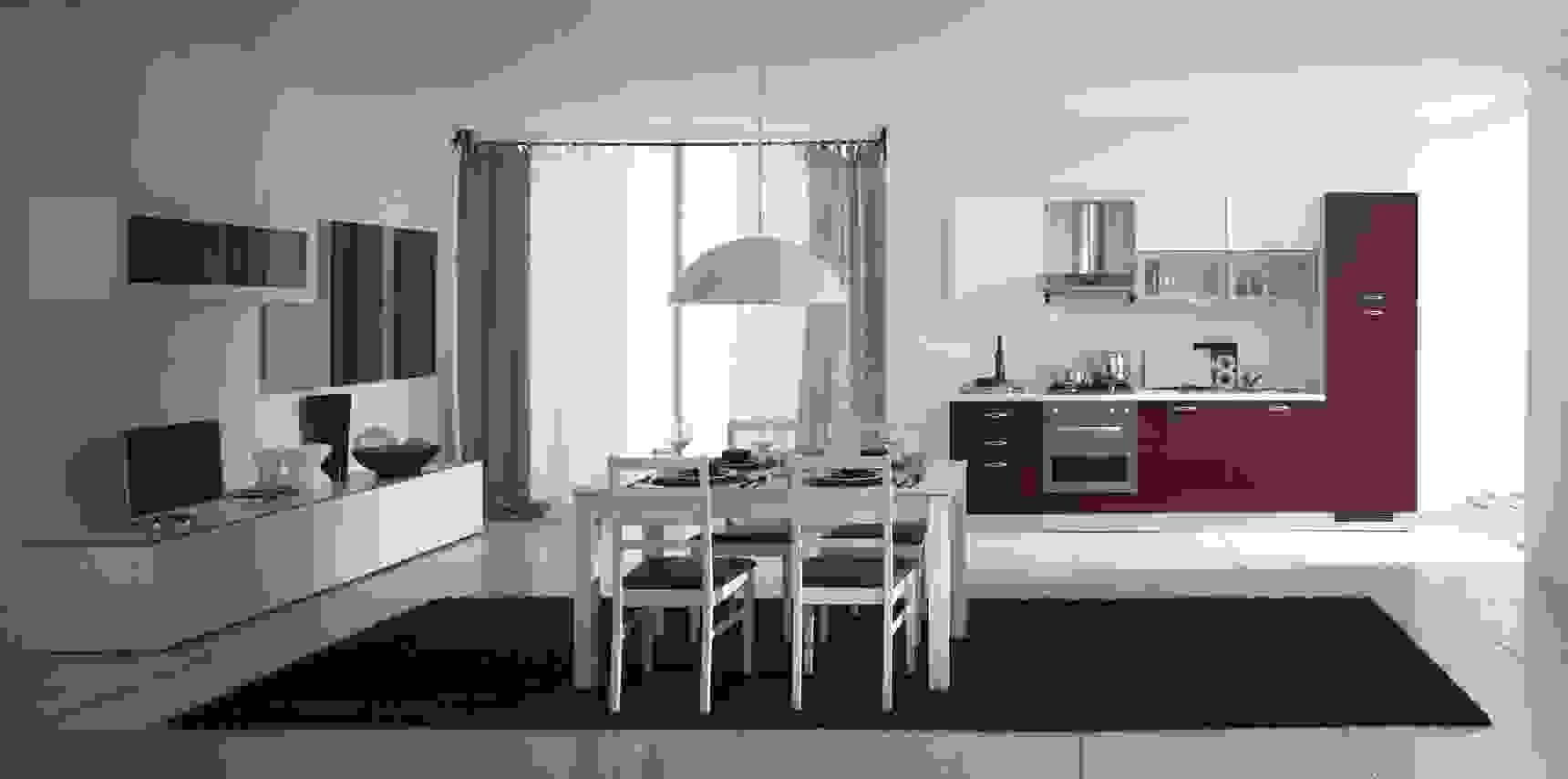Le cucine open space sono nate come. Cucina E Soggiorno Insieme Idee Ed Esempi Di Arredamento
