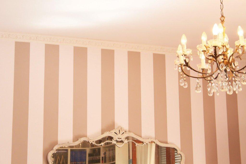 come dipingere righine colorate come bordo decorativo per dare personalità a una parete può bastare una fascia di colore con un bordo particolare che la rifinisca. Come Dipingere Le Pareti Di Casa Da Soli Suggerimenti Pratici