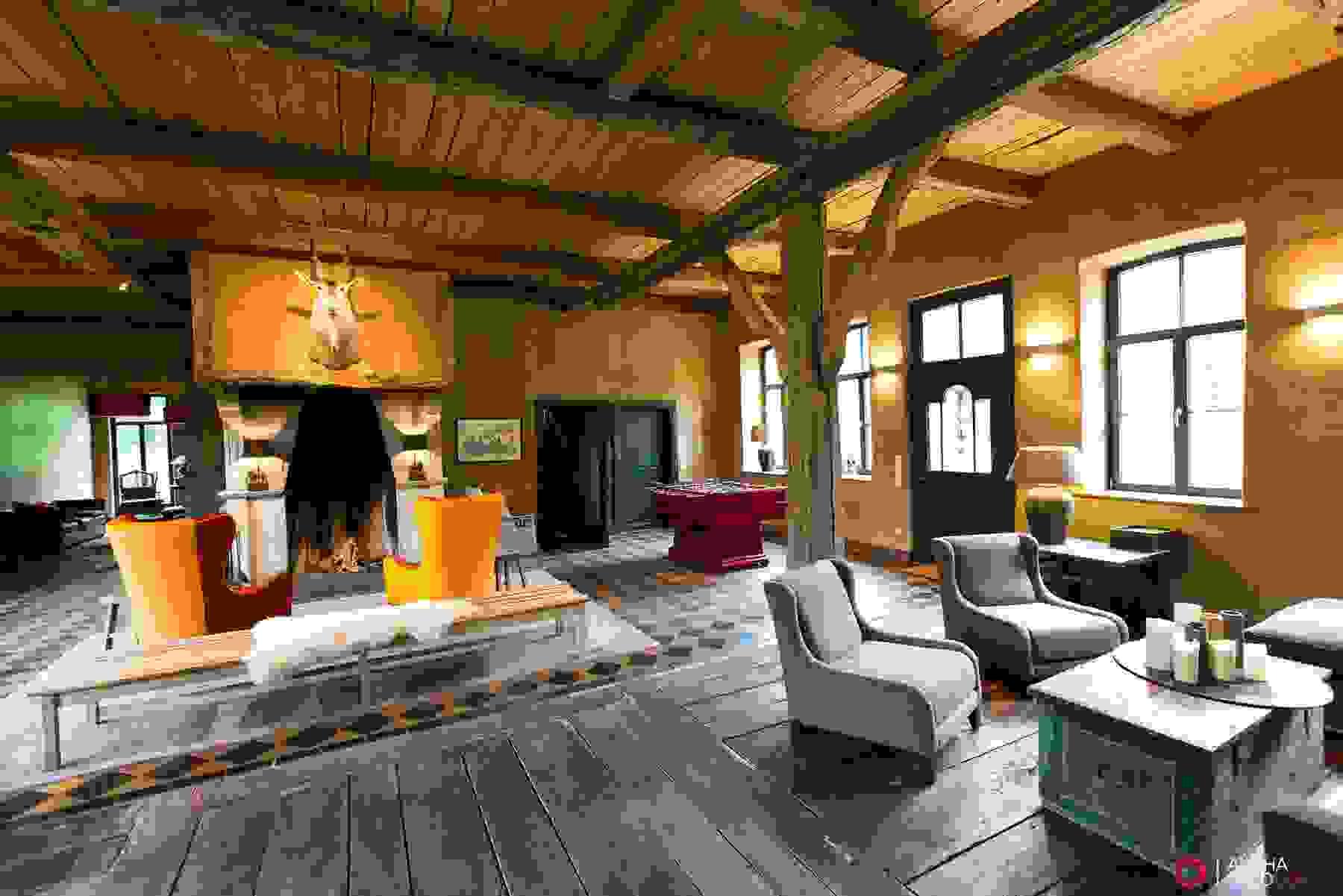 Realizzare una buona e valida copertura in legno è fondamentale per garantire isolamento termico all'intera abitazione. Case Rustiche Interni Idee E Spunti Di Arredamento