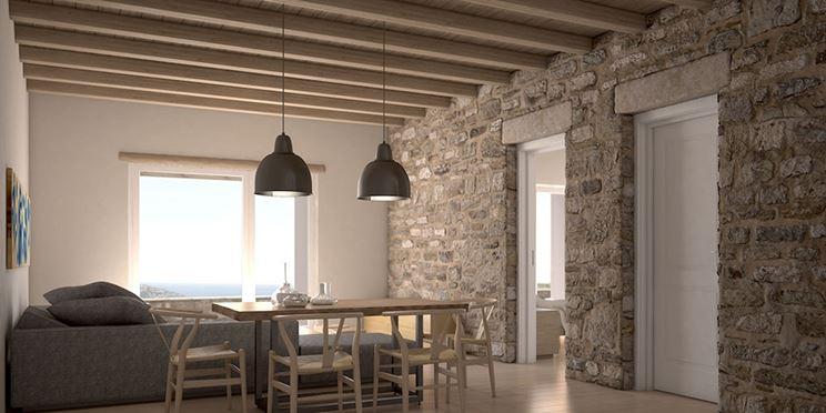 Muri in pietra interni e per esterni materiali e