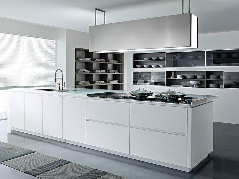 Cucine moderne con isola o ad angolo bianche ed economiche