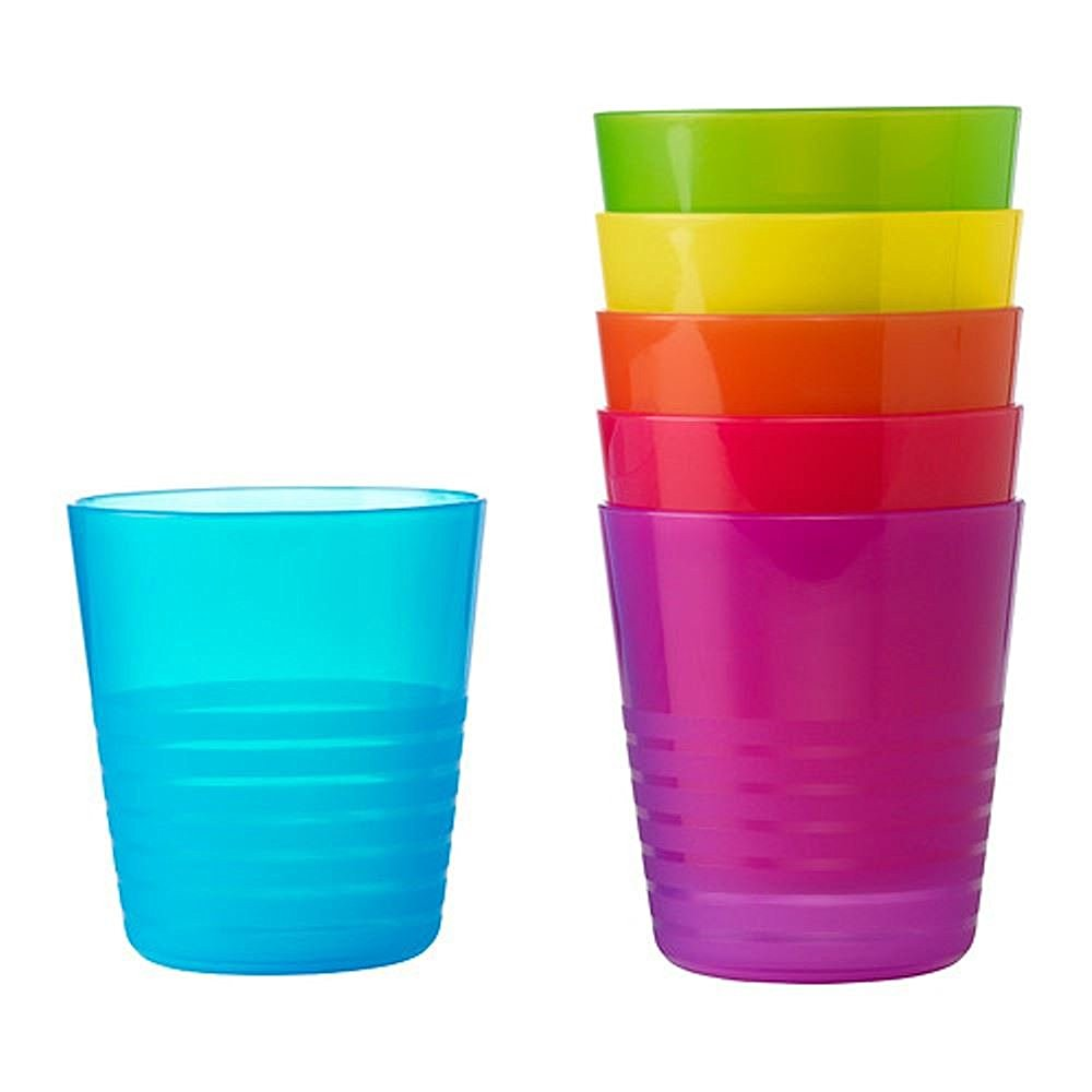 Bicchieri di plastica colorati e divertenti le pi belle