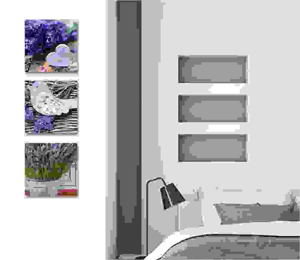 Printerland shabby chic quadretti da parete, camera da letto vintage, bicicletta fiori 4 pezzi, 30 x30 cm xxl, stampa tela quadro, arredamento salotto. Quadri Shabby Chic Per Living E Camera Da Letto Ikea E Altre Proposte