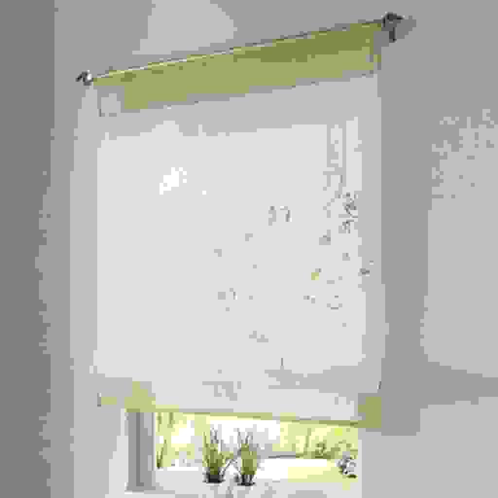 In legno finitura color ciliegio. Tende Da Bagno Floreali Classiche E Moderne Tante Idee Scelte Per Voi